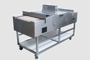 uv curing custom conveyor floorstanding